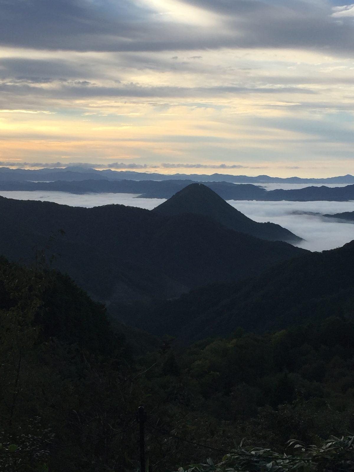 【雲海】 福知山市大江町