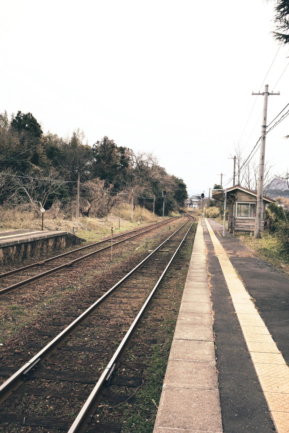 2017年3月18日【小天橋駅ホーム】京丹後市久美浜町浦明220-2