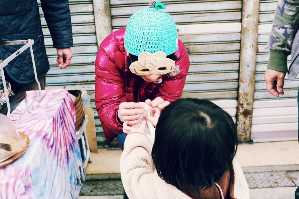2017年2月26日 【福知山ワンダーマーケット】 福知山市新町商店街