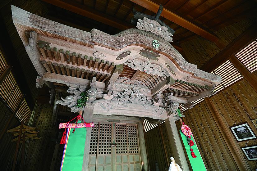 【王歳神社】 福知山市三和町芦渕131-3